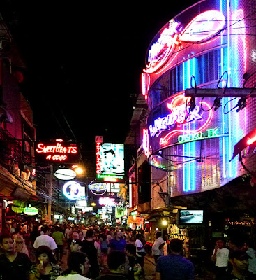 Night at walking street