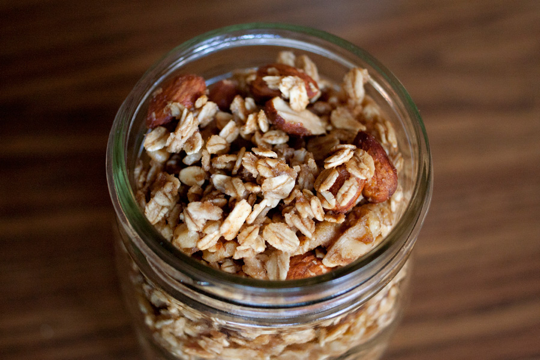holiday guest post // homemade apple cinnamon granola from ...