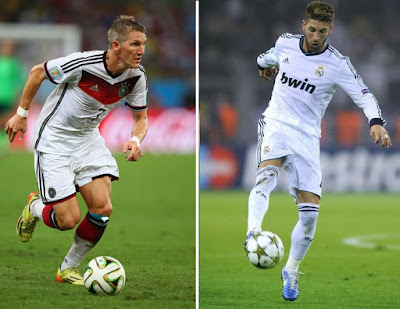Man United eye Bastian Schweinsteiger and Sergio Ramos