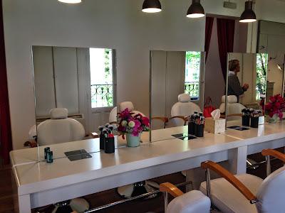 Sala donde realizamos el curso de automaquillaje con Rocío de I´m Pretty - Foto: Amaya Barriuso