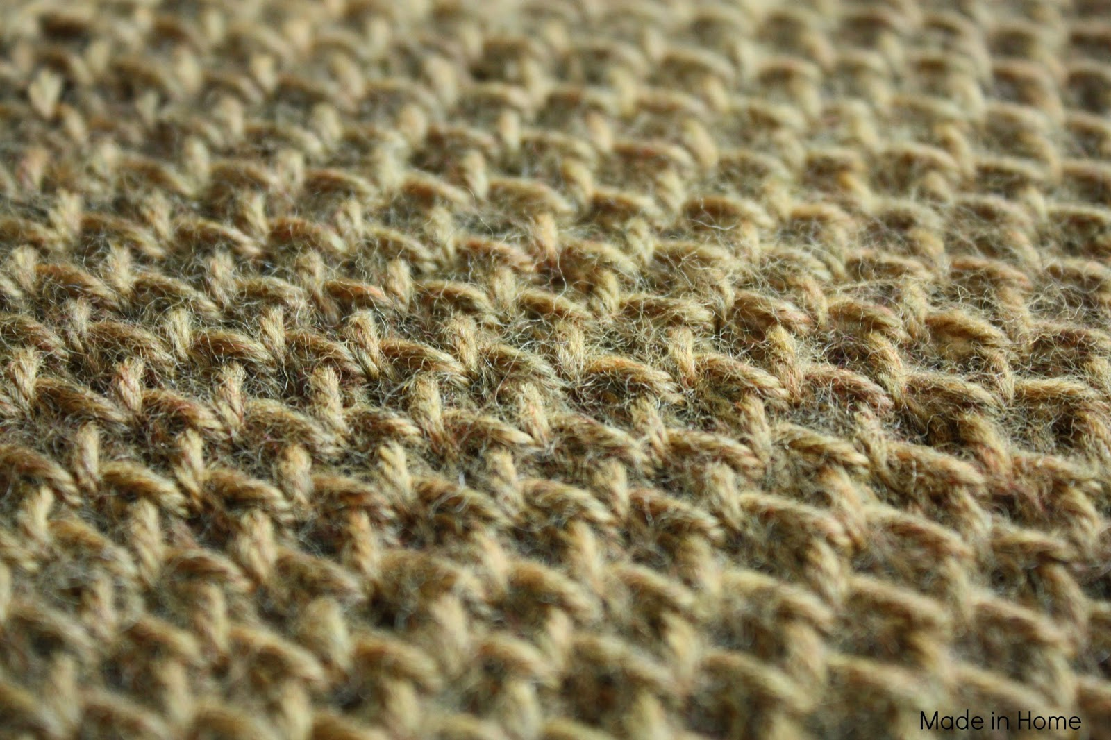 Knitting Increasing Stitches Make One : Made in Home: Study of honeycomb :: Knitting