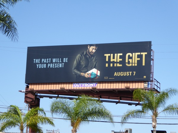 The Gift movie billboard