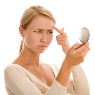 acne en el rostro