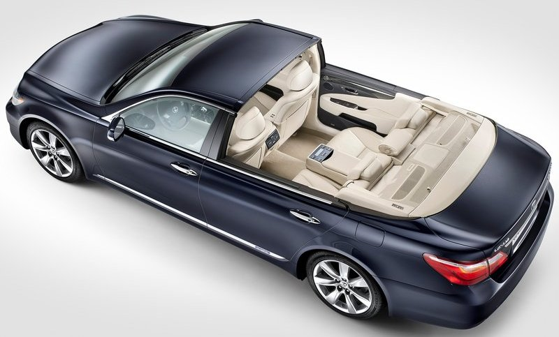 Welcome to Linda Ikejis Blog  The 2011 Lexus LS 600h L Landaulet