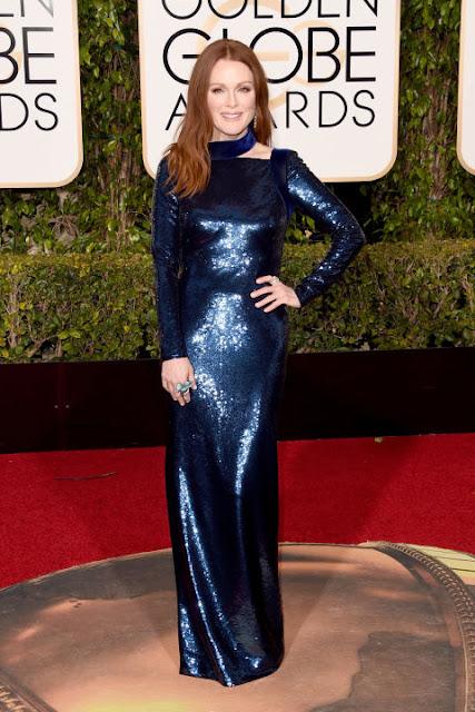 Julianne Moore Tom Ford Golden Globes 2016