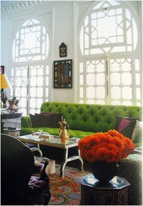 key interiors by shinay color crush green