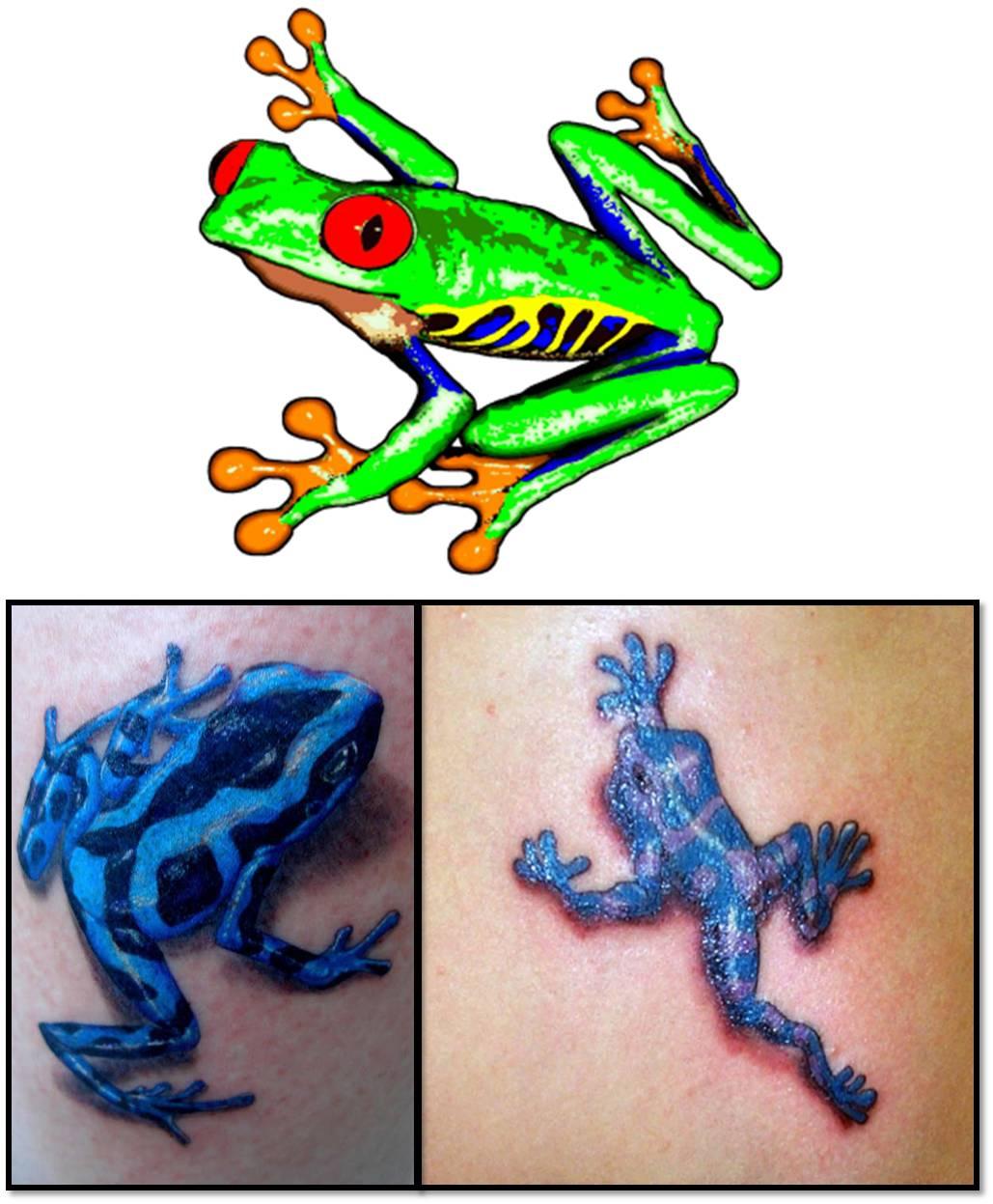 trend tattoos frog tattoos. Black Bedroom Furniture Sets. Home Design Ideas