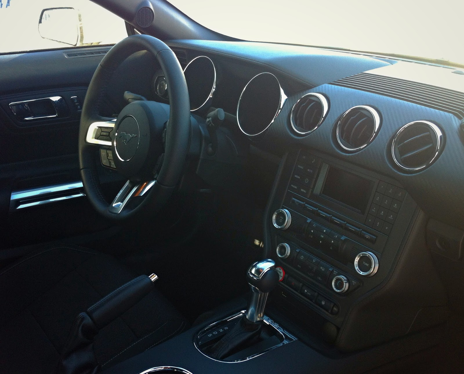 2015 ford mustang v6 review not the one you want but it for Ford mustang 2015 interior