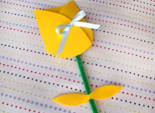 Lembrancinha Dia da Mulher ou Dia das Mães Tulipa