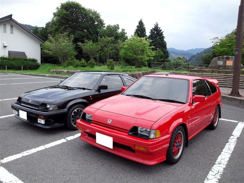 stara Honda CR-X I, youngtimer, pierwsza generacja, usportowione samochody, Japonia, JDM, zdjęcia, bilder
