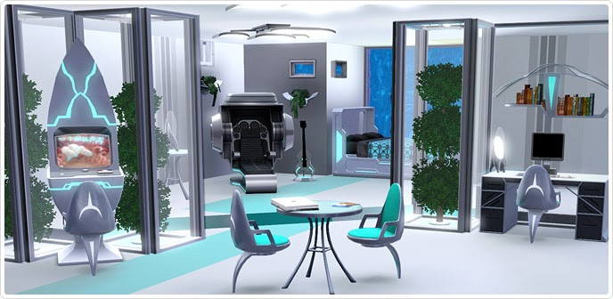 My Sims 3 Blog Futureshock Bedroom