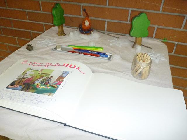 Winterdeko Kindergarten