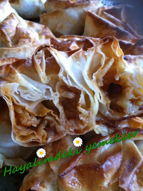 Patatesli Gül Böreği Tarifi,resimli Gül Böreği nasil yapilir