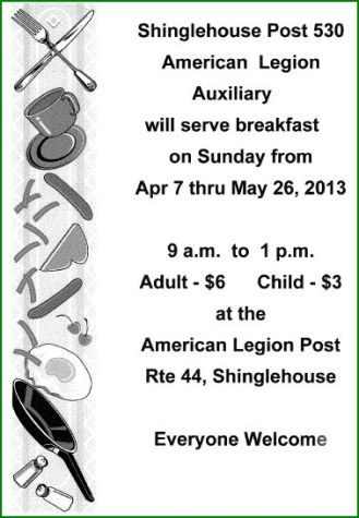 5-26 Breakfast At Shinglehouse Legion
