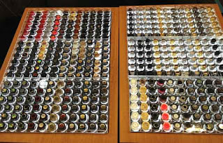 knobs galore NAMM 2012 image from Bobby Owsinski's Big Picture production blog