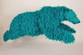 Arte con Plumas, Esculturas de Osos
