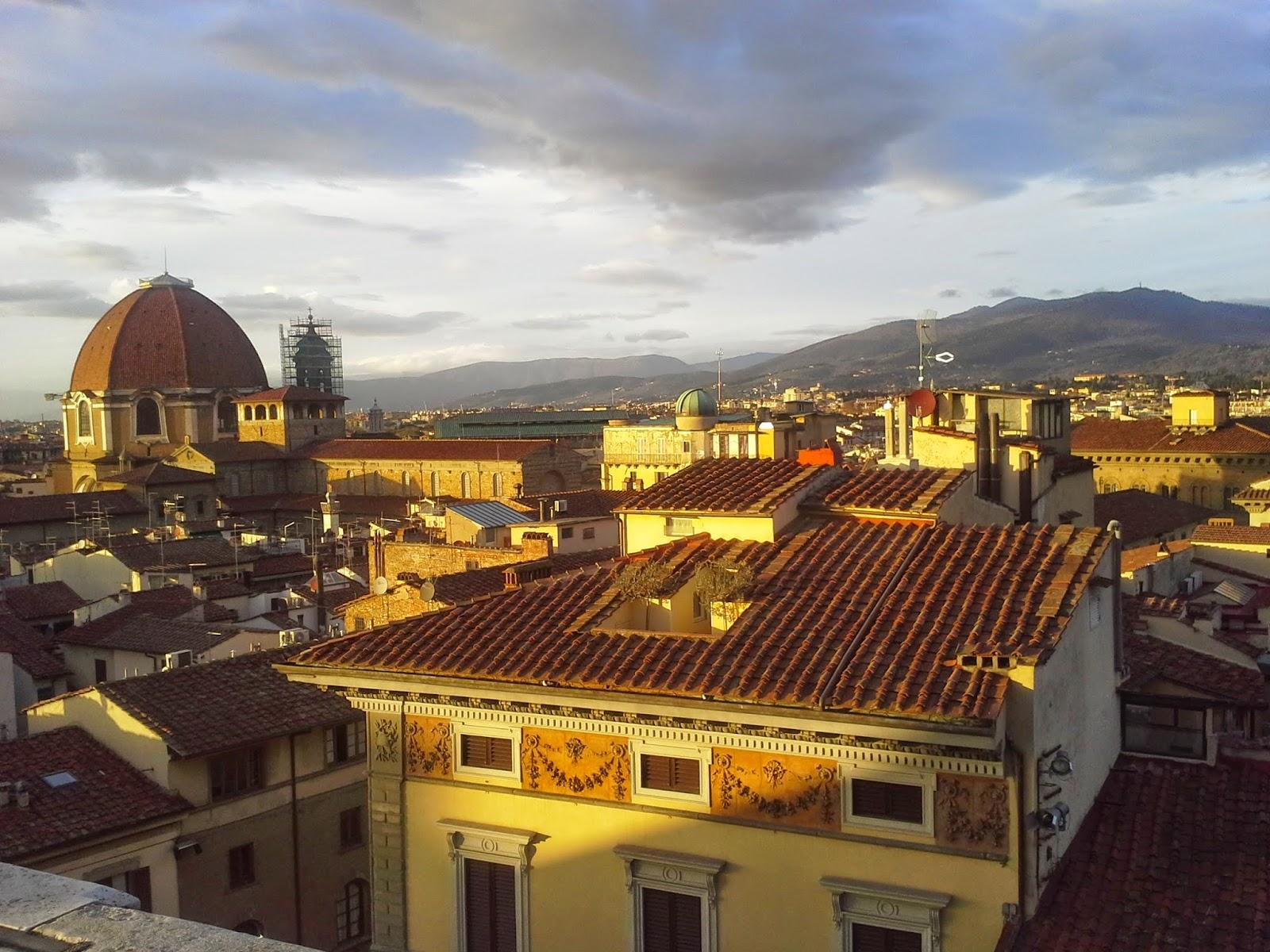 Curiosità di Firenze: Le Cappelle Medicee viste dalle terrazze del Duomo