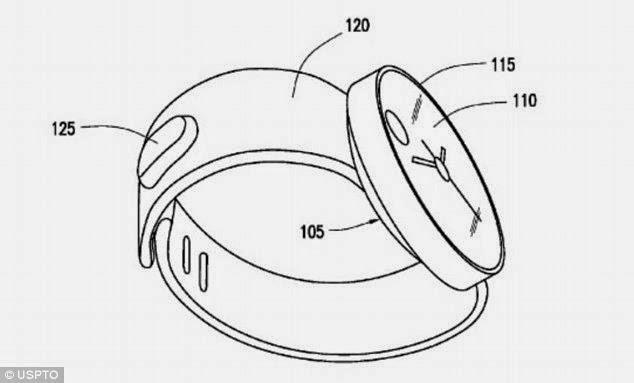 Samsung's smartwatch design patent