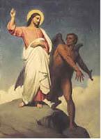 Jesus tentado en el desierto