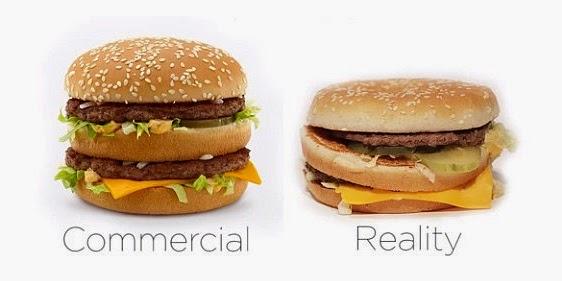 Iklan vs kenyataan