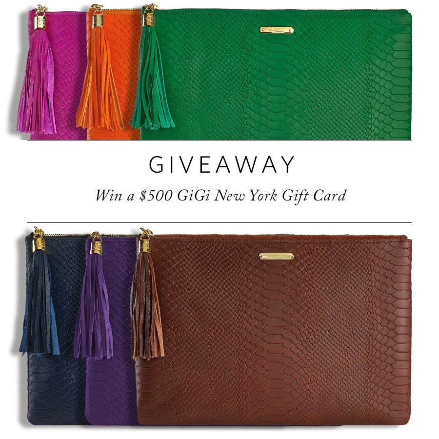 Gigi New York Giveaway