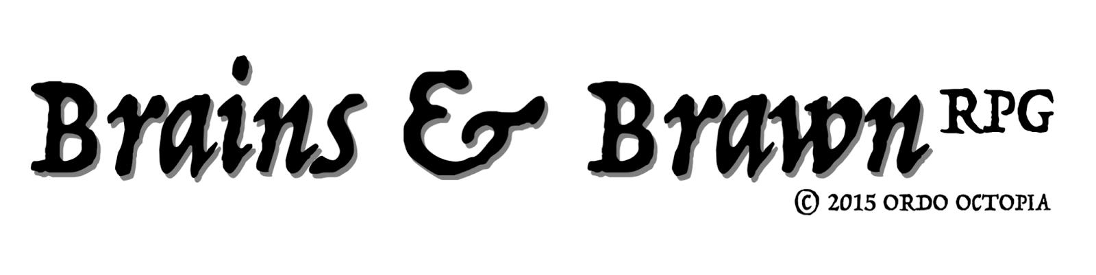 Brains&Brawn rpg