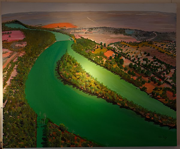 Murray-Darling: painting by Jade Temby