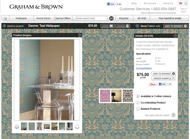 Graham & Brown Website