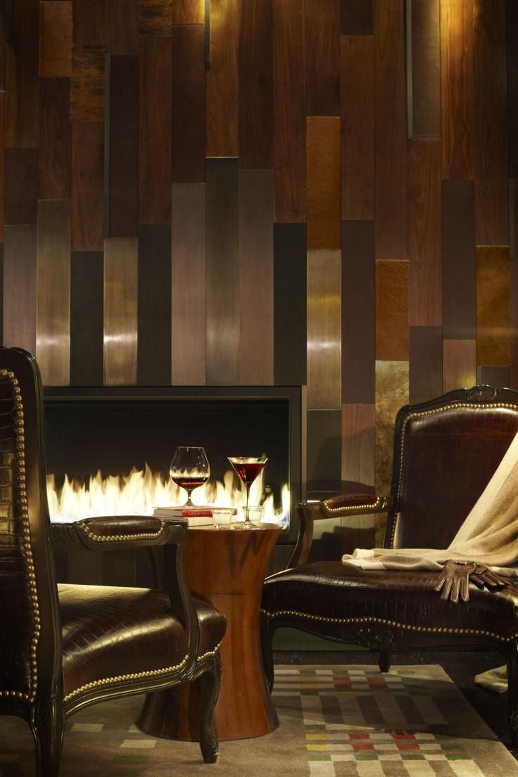 Wood Paneled Walls In Hotel Design