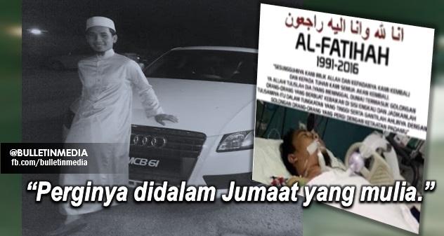 [10Gambar] Sayu : Pergi nya Imam muda yang dikasihi Ust Asrul Fahmi setelah puas bertarung nyawa