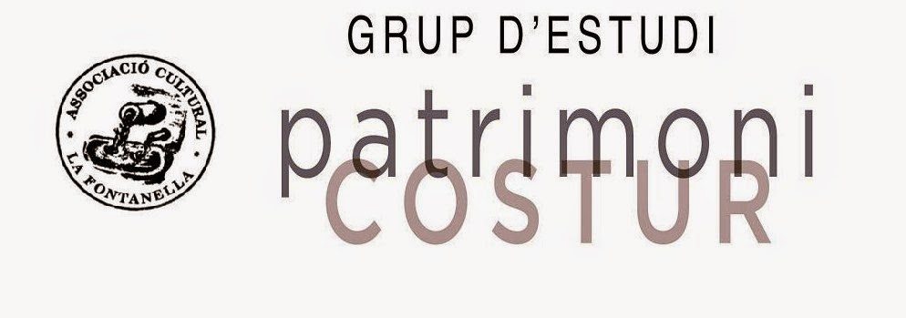 GRUP D'ESTUDI DEL PATRIMONI DE COSTUR