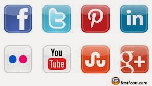 How To Add Social Media Buttons To Your Blog Sidebar Create Your Own Clickable Social Media Icons for Your Blog