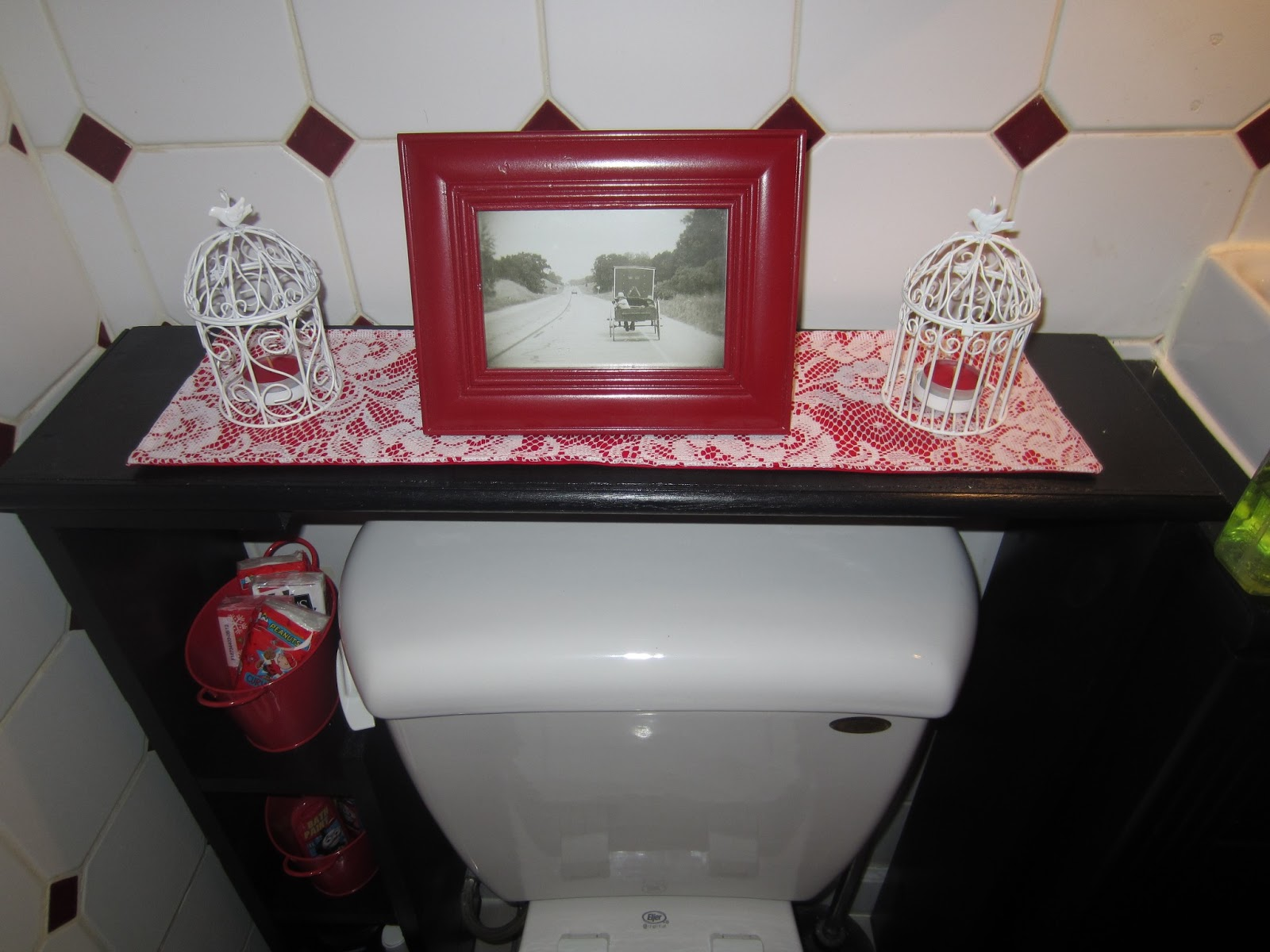 Above The Toilet Storage Cabinet