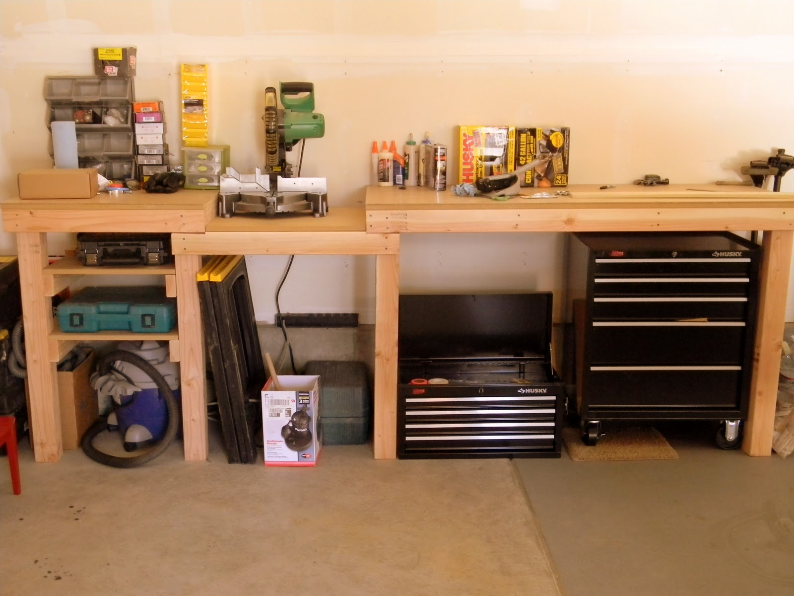 Diy workbench organization pdf woodworking for Working table design ideas