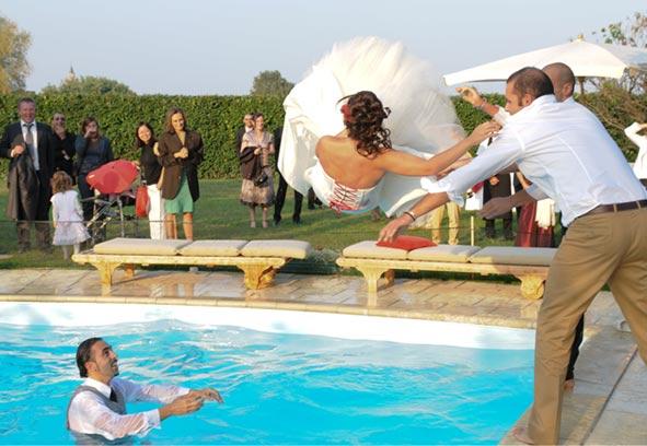 Ristoranti per il matrimonio prima pranzo e poi piscina for Addobbi piscina per matrimonio