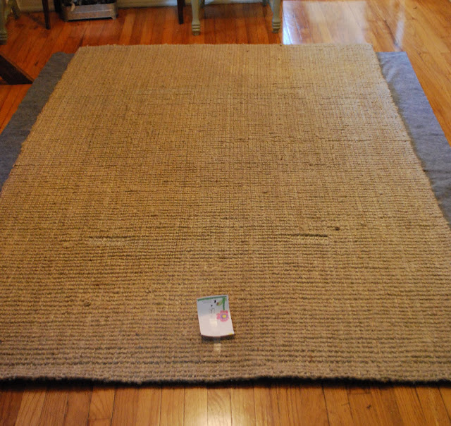 This & That: Jute Rug Marks Non-Solution