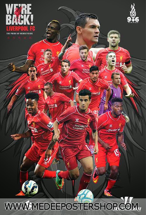 Liverpool 2015 Poster