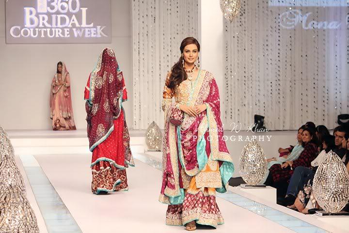 Pakistan fashion shows pakistani dresses 360 dulhan culture week 2011
