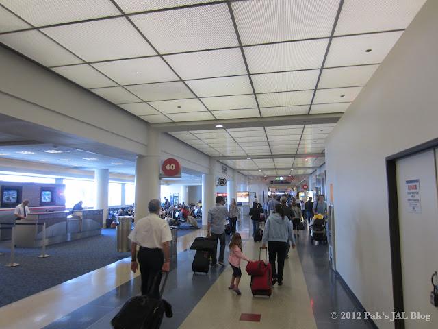 LAX Terminal 4 was under renovation