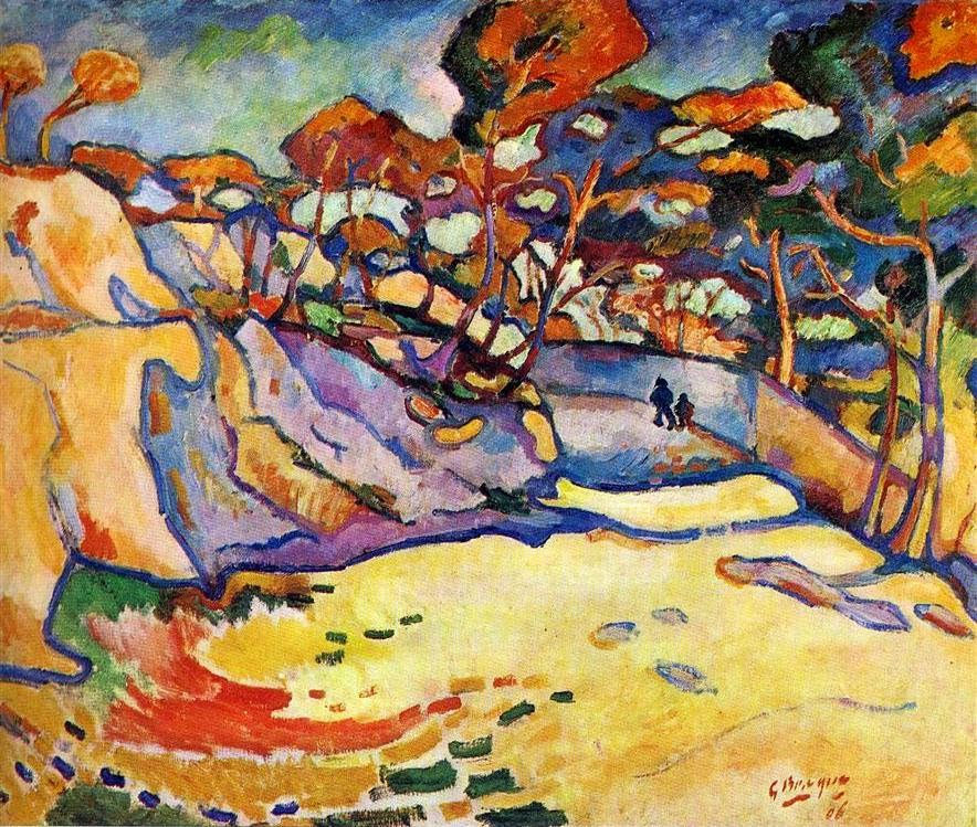 Georges Braque L'Estaque