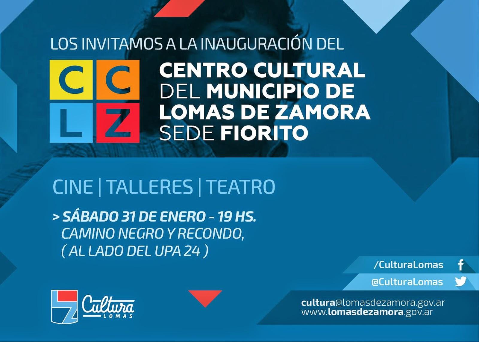 Este sábado inauguran Centro Cultural en Fiorito