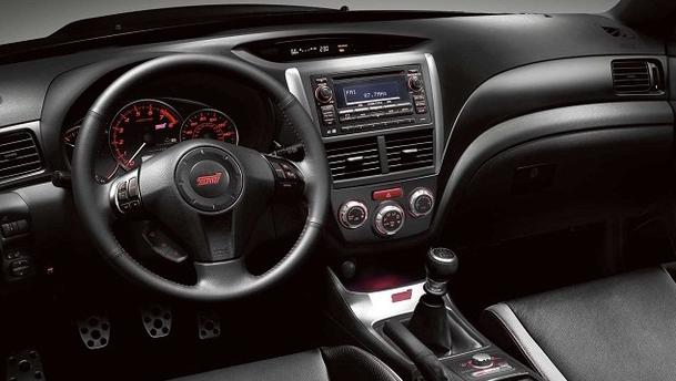 2016 Subaru WRX Sedan Sport Interior