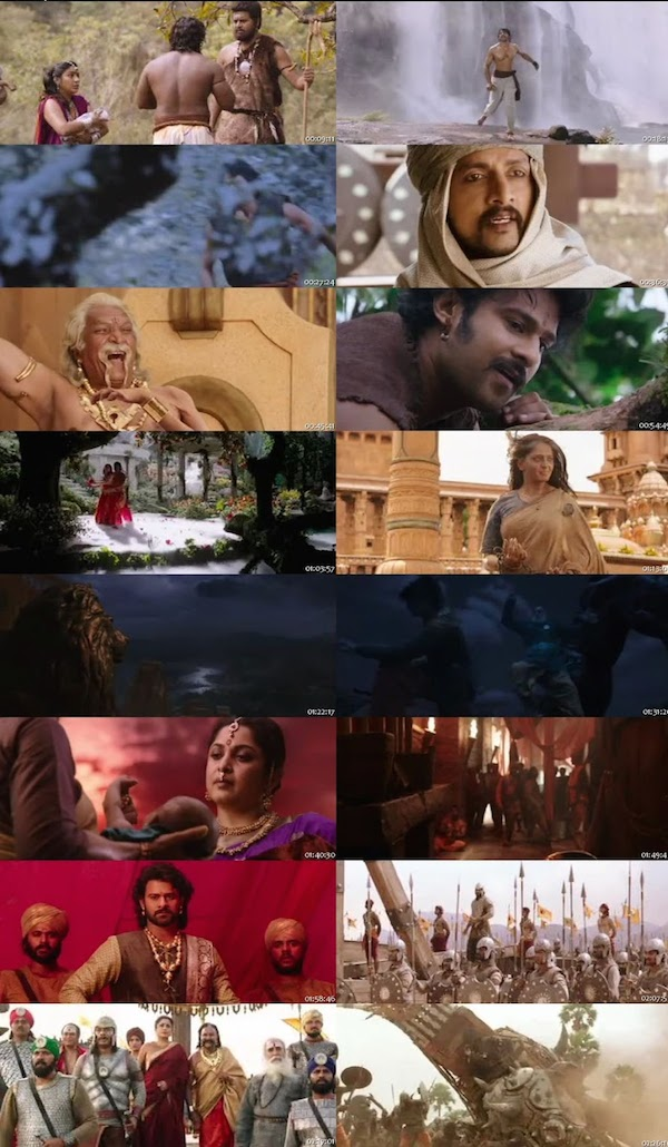 Baahubali Hindi Non Retail DVDRip 400mb