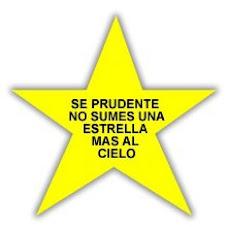 """CAMPAÑA NACIONAL DE CONCIENTIZACION VIAL """"ESTRELLAS AMARILLAS"""""""
