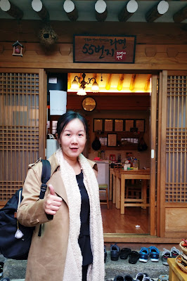 If you are making a trip to Samcheongdong or Bukchon area, I would recommend this cozy and nice ambiance traditional Korean restaurant | www.meheartseoul.blogspot.com