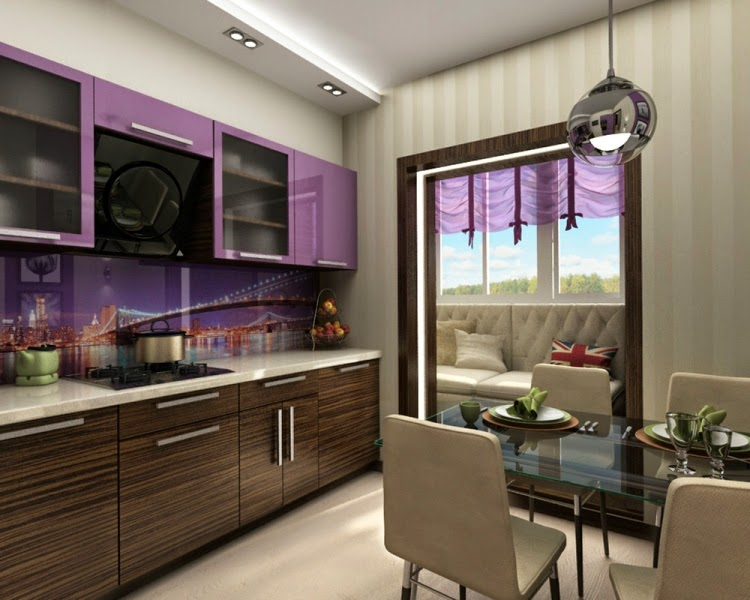 Decorar una cocina y comedor juntos colores en casa - Cocinas comedor modernas ...