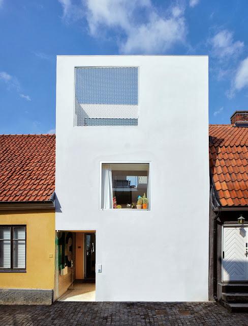 Loft Living in Minimalismus-Haus mit skndinavischen Design