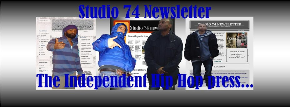 STUDIO 74 NEWSLETTER