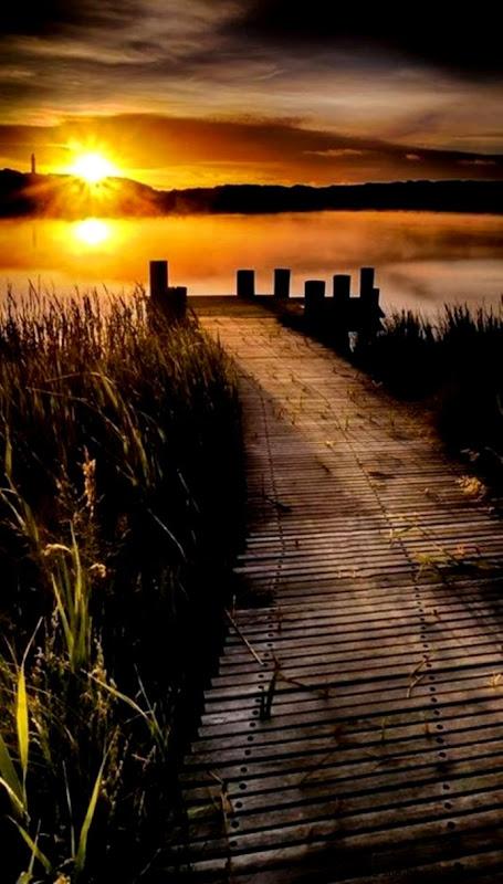 луна  Sunsets Beautiful Sunset and Lakes
