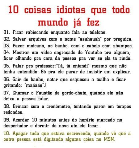 COISAS IDIOTAS,IDIOTAS,ESTRANHO
